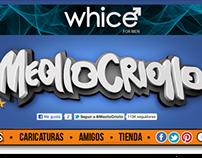 Meollo Criollo Web Page