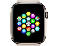 Smart Watch User Interaction Menu