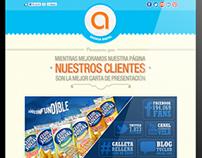 Analiticom Web Page