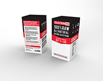 Colostrum Supplement - Packaging Design