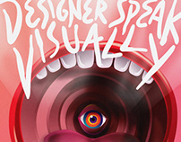 Designer Speak Visually | Cultural Poster