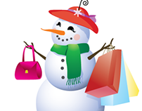 SnowLady Boutique Logo Design