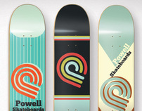 Powell skateboards graphic
