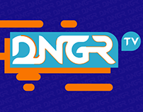 DNGR TV (Channel ID Animation 2D)