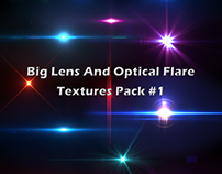 Big Lens And Optical Flare Textures Pack #1