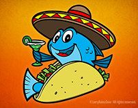 Fish Taco Character Design