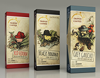 TRIPOD COFFEE package set
