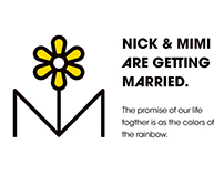 Nick & Mimi Wedding Invitation