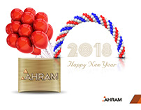 AHRAM - Social Media Post Design - Happy New Year.