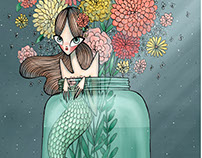 Sirena Mason Jar