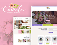 Camelia | Floral Studio WordPress Theme