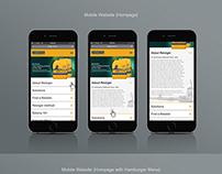 Bloem Responsive Website Design (Tablet & Mobile)