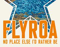 """FLYROA"" Roanoke Regional Partnership Illustration"