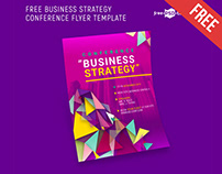 FREE BUSINESS STRATEGY CONFERENCE FLYER TEMPLATE