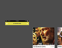 WIP: UI concept on movie search app
