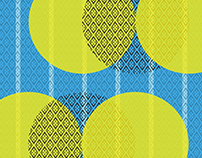 Yellow Circles Pattern