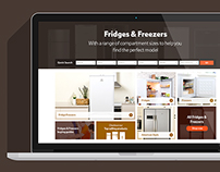 Fridges & Freezers on Tesco Direct