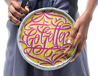 """Sugarbird Gin / Artist Collaboration - """"Go Getter"""""""