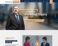 Personal Injury Design is one of our creative design.