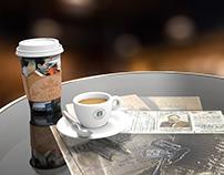 Hemingway Memorabilia Café Table