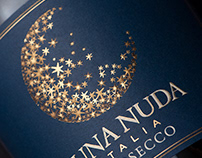 Luna Nuda Prosecco Packaging Design
