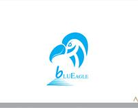 blueeagle  creative  logo