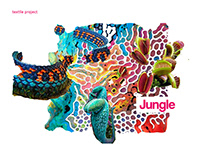 Jungle - a set of textiles