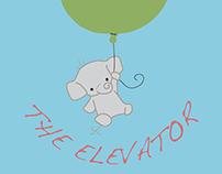 Elena the Elevator Logo and Business Card