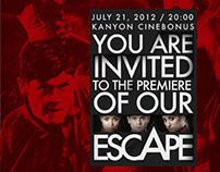 Interactive Movie Invitation Design