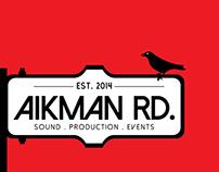 Aikman Rd. Studios | Branding