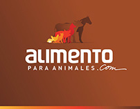 Branding + web design of ALIMENTO PARA ANIMALES