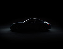 Porsche Carerra S 2017 Photoshoot