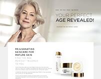L'Oréal - Age Perfect [Landing Page]