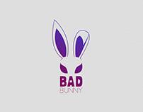 Logo Design - Bad Bunny (Light Version)