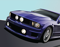 Mustang Vector Illustration