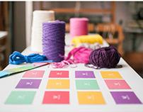 Textile school - Brand identity
