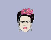 Frida. Stickers Book