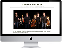 Zephyr Quartet Website