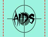 aids awareness minimalist poster