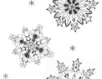 Cabassi Oy. Illustration: Snowflakes