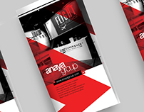 Anaya Group Brochure Design