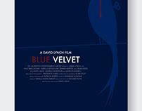 """Cartaz """"Blue Velvet"""" Film"""
