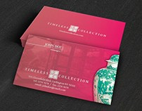 Free Psd Antique Collector Business Card Template