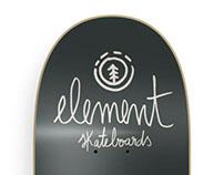 Element skateboards - Illustration