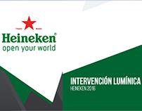 Megaproyección / Heineken