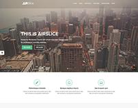 AirSlice - Creative Responsive Wordpress Theme