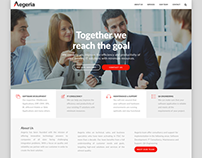 Web Design - WordPress - Aegeria Business Consulting
