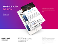 DreamsCloud, Mobile App