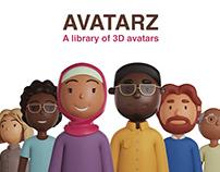 AVATARZ - Diverse library of 3D avatars