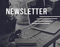 Newsletter design | 2017
